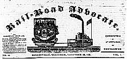Rail-Road Advocate Newspaper