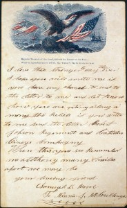 Samuel Moore Letter to Nancy McCullough