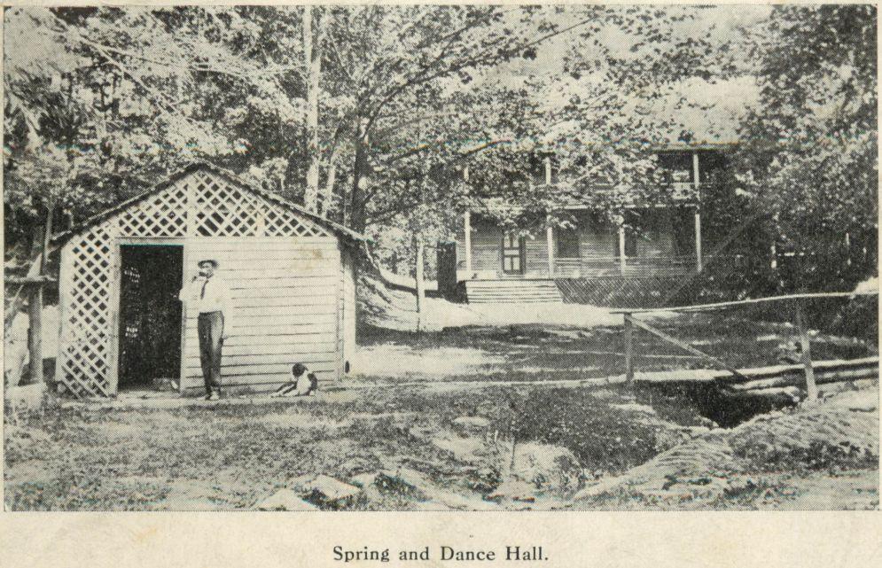 Galbraith Springs from 1911 Post Card
