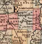 Henderson Co. TN - 1860