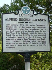 Alfred Eugene Jackson Historical Marker