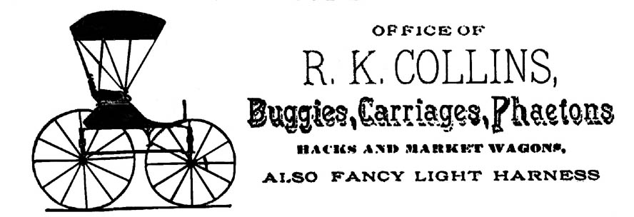 Will of R. K. Collins